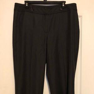 Black dress pants from Dressbarn